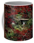 Japanese Garden, Through Acer In Coffee Mug
