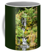 Japanese Garden Waterfall Coffee Mug