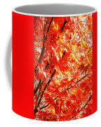 Japanese Maple Leaves 12 In The Fall Coffee Mug