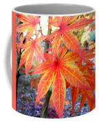 Japanese Maple Leaves 13 In The Fall Coffee Mug