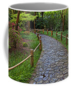 Japanese Tea Garden Path Coffee Mug