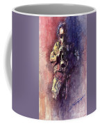 Jazz Miles Davis Maditation Coffee Mug