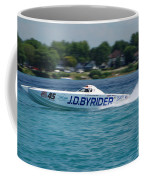 J.d. Byrider Offshore Racing Coffee Mug