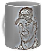 Jeff Gordon In 2010 Coffee Mug by J McCombie