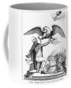 Jefferson: Cartoon, 1800 Coffee Mug by Granger
