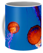 California Monterey Aquarium Jellyfish Exhibit  Coffee Mug
