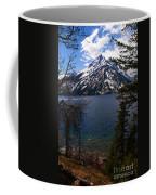 Jenny Lake In The Grand Teton Area Coffee Mug