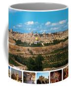 Jerusalem Poster Coffee Mug
