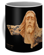 Jesus Christ Wooden Sculpture -  Four Coffee Mug