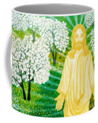 Jesus On Mount Thabor Coffee Mug