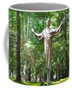 Jesus Statue Coffee Mug