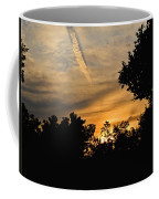 Jet Trail Sunset Coffee Mug