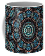 Jeweled Turquoise Coffee Mug
