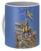Joan Of Arc Statue New Orleans Coffee Mug