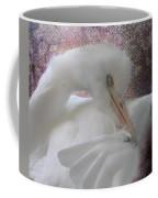 Joelle's Egret Coffee Mug