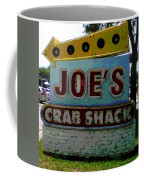 Joe's Crab Shack Coffee Mug