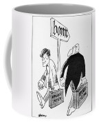 John F. Kennedy Cartoon Coffee Mug