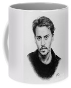 Johnny Depp Coffee Mug by Andrew Read