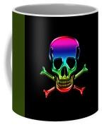 Jolly Roger Rainbow Coffee Mug