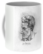 Jon Pertwee 1955 Coffee Mug