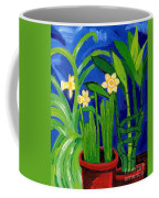 Jonquils And Bamboo Plant Coffee Mug