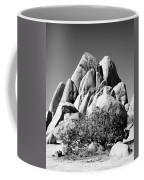Joshua Tree Center Bw Coffee Mug