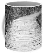Journey Of Soles Coffee Mug by Luke Moore