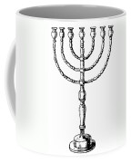 Judaism: Menorah Coffee Mug