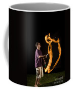 Juggling Fire Coffee Mug