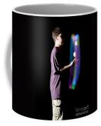 Juggling Light-up Balls Coffee Mug