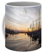 July Evening In The Marina Coffee Mug