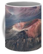 Kamaolii Cinder Cone - Haleakala Crater - View From Kalahaku  Coffee Mug