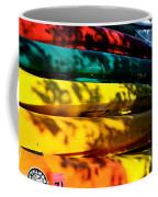 Kayak Colors Coffee Mug