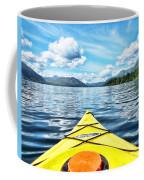 Kayaking In Bc Coffee Mug