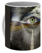 Keep Your Eyes On The Road Coffee Mug