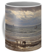 Kelp Gatherers Coffee Mug by Henry Moore