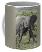 Kenya Masai Mara Charging Elephant  Coffee Mug