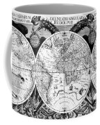 Keplers World Map, Tabulae Coffee Mug by Science Source