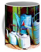 Kettles And Cans To Water The Garden Coffee Mug
