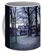 Kew Park At Dusk Coffee Mug
