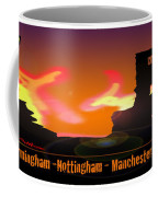 Kid Monsta And The England Riots Coffee Mug
