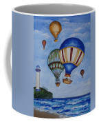 Kid's Art- Balloon Ride Coffee Mug