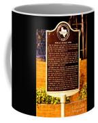 Kilgore Historical Marker Coffee Mug
