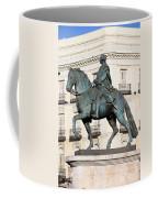 King Charles IIi Statue In Madrid Coffee Mug