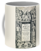 King James I Bible, 1611 Coffee Mug by Granger
