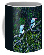 Woodland Kingfisher Coffee Mug