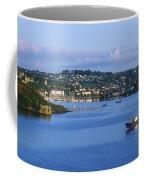 Kinsale, Co Cork, Ireland Boat With Coffee Mug