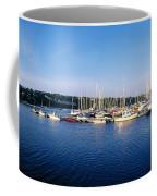 Kinsale, Co Cork, Ireland Moored Boats Coffee Mug