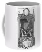 Kissing The Popes Feet Coffee Mug