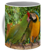 Kissy Kissy Mccaws Coffee Mug